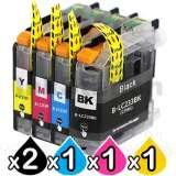 Brother MFCJ5720DW [2BK,1C,1M,1Y] Ink Cartridge