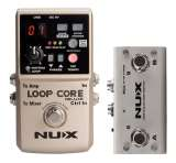 NUX Core Loop Core Deluxe Bundle with NMP-2 Dual Foot Switch