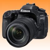 New Canon EOS 80D 24.2MP Kit (18-135mm) Digital Cameras (FREE INSURANCE + 1 YEAR AUSTRALIAN WARRANTY)