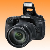 New Canon EOS 80D 24.2MP Kit (18-200mm) Digital Cameras (FREE INSURANCE + 1 YEAR AUSTRALIAN WARRANTY)