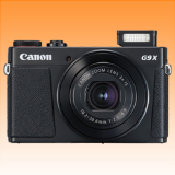 New Canon PowerShot G9X Mark II 20MP Digital Camera Black (PRIORITY DELIVERY + FREE ACCESSORY) - Visit Us For More Color Variant