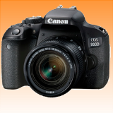 New Canon EOS 800D Kit with 18-55mm IS STM Digital Camera Black (FREE INSURANCE + 1 YEAR AUSTRALIAN WARRANTY) - Visit Us For More Color Variant