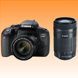 New Canon EOS 800D Twin Kits (18-55)(55-250 STM) Digital SLR Camera (FREE INSURANCE + 1 YEAR AUSTRALIAN WARRANTY) - Visit Us For More Color Variant