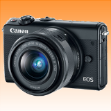 New Canon EOS M100 kit (15-45mm) Digital Cameras Black (FREE INSURANCE + 1 YEAR AUSTRALIAN WARRANTY) - Visit Us For More Color Variant