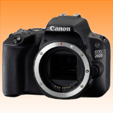New Canon EOS 200D 24.2MP Body Digital Camera Black (FREE INSURANCE + 1 YEAR AUSTRALIAN WARRANTY) - Visit Us For More Color Variant