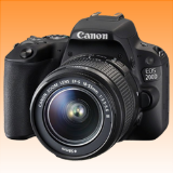 New Canon EOS 200D 24.2MP Kit (18-55 III) Digital Camera Black (FREE INSURANCE + 1 YEAR AUSTRALIAN WARRANTY) - Visit Us For More Color Variant
