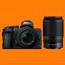 New Nikon Z50 Mirrorless Twin Lens Kit (16-50)(50-250) Digital Camera (FREE INSURANCE + 1 YEAR AUSTRALIAN WARRANTY)